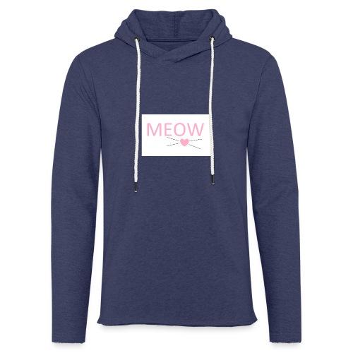 MEOW - Lekka bluza z kapturem