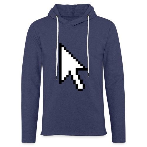 Mouse Arrow - Lichte hoodie unisex