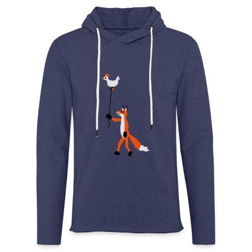 Fuchs und Henne - Leichtes Kapuzensweatshirt Unisex