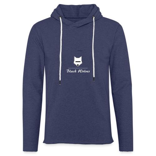 blackwolves Transperant - Sweat-shirt à capuche léger unisexe