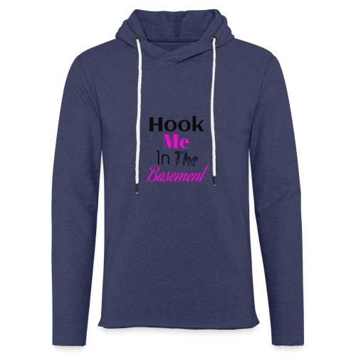 Hook N Chill - Let sweatshirt med hætte, unisex