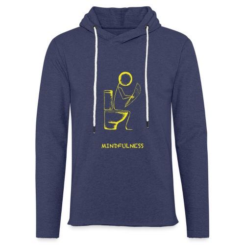 Mindfulness t-shirt - Light Unisex Sweatshirt Hoodie
