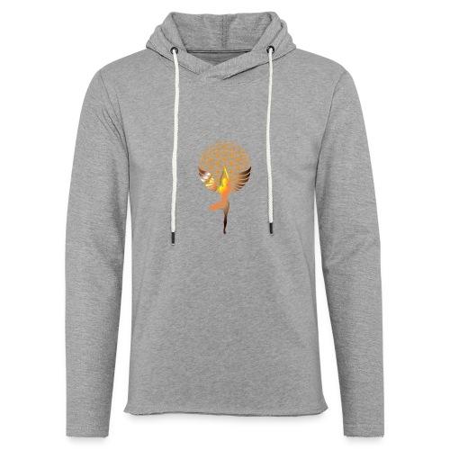 fleur de vie yoga 2 - Sweat-shirt à capuche léger unisexe