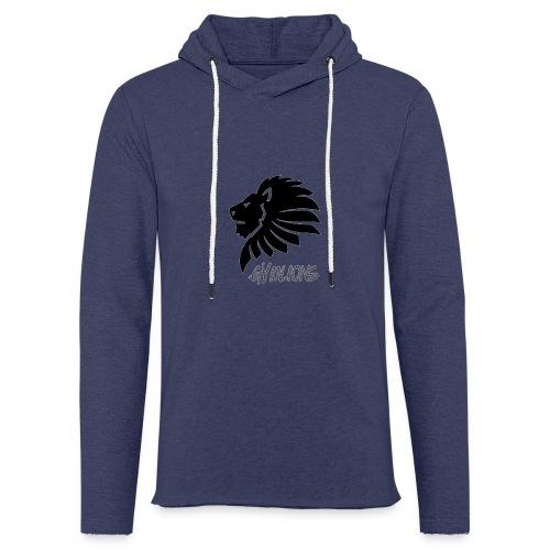 Gymlions T-Shirt - Leichtes Kapuzensweatshirt Unisex