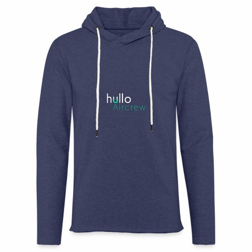 hullo Aircrew Dark - Light Unisex Sweatshirt Hoodie