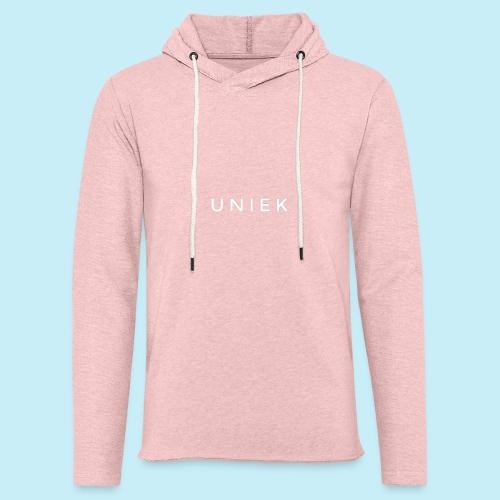 unique - Sweat-shirt à capuche léger unisexe