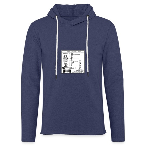 W.O.T War tactic, tank shot - Light Unisex Sweatshirt Hoodie