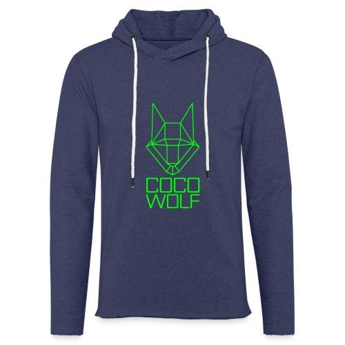 COCO WOLF - Leichtes Kapuzensweatshirt Unisex