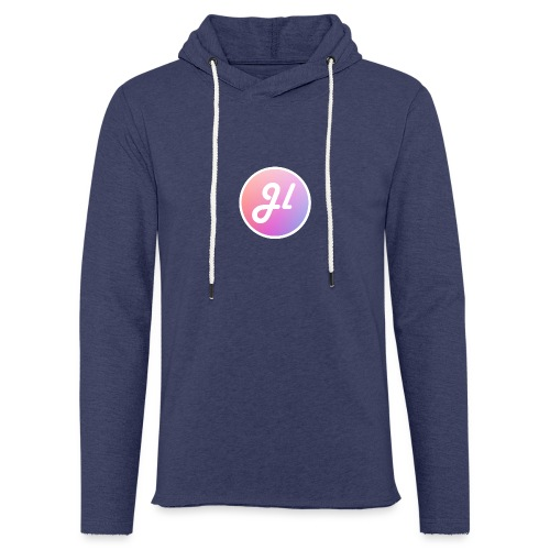 Just Lewis Circle Logo - Light Unisex Sweatshirt Hoodie