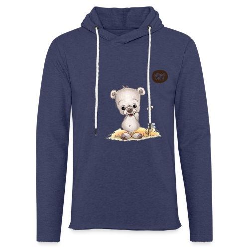 Noah der kleine Bär - Leichtes Kapuzensweatshirt Unisex