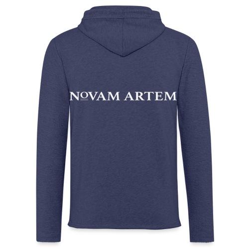 WHITE NA - Let sweatshirt med hætte, unisex