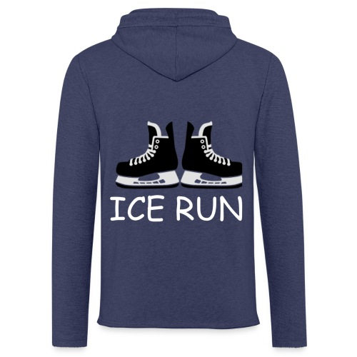 Ice Run - Sweat-shirt à capuche léger unisexe