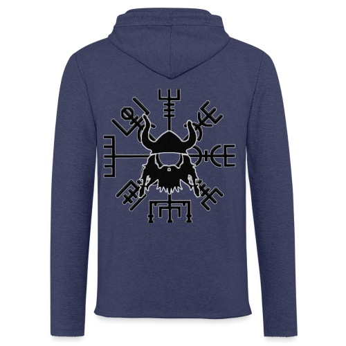 VIKING - Sweat-shirt à capuche léger unisexe