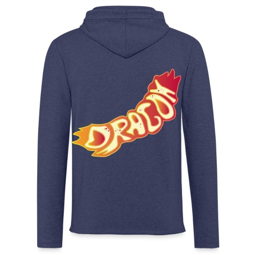 The Dragon - Leichtes Kapuzensweatshirt Unisex