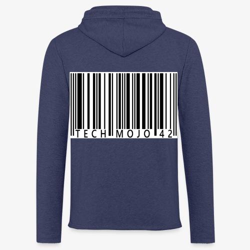 TM graphic Barcode Answer to the universe - Light Unisex Sweatshirt Hoodie