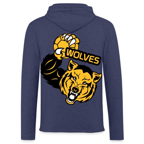 Wolves Handball - Sweat-shirt à capuche léger unisexe