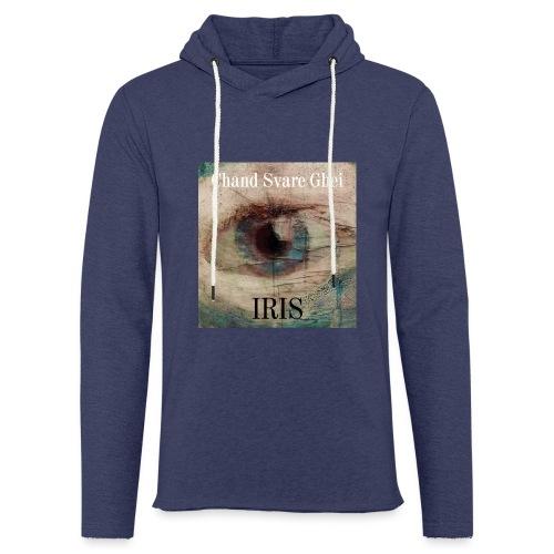 Iris - Lett unisex hette-sweatshirt