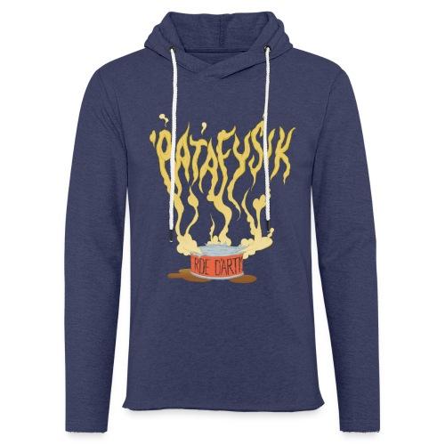 'patafysik - Let sweatshirt med hætte, unisex