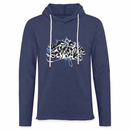 Dae 2Wear graffiti style ver01 black edt - Let sweatshirt med hætte, unisex