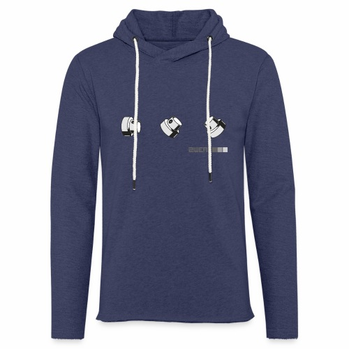 2wear caps street flow ver01 - Let sweatshirt med hætte, unisex
