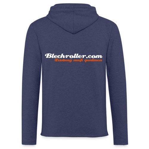 blechroller logo - Leichtes Kapuzensweatshirt Unisex