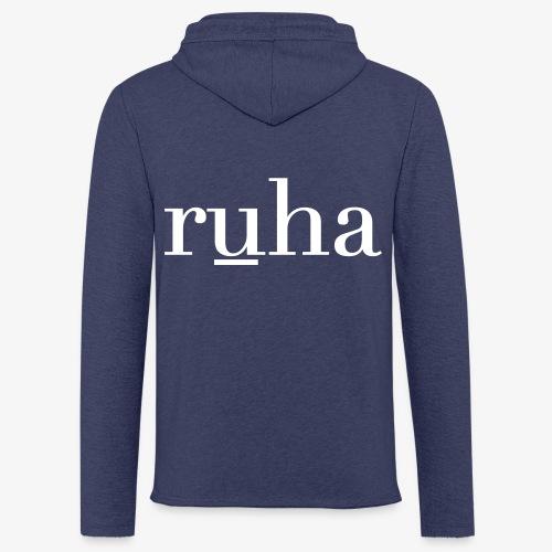 Ruha - Lichte hoodie unisex
