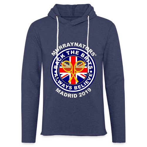 BackTheBritsMadrid19 - Light Unisex Sweatshirt Hoodie
