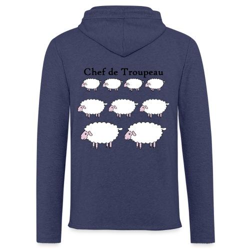 chef-de-troupeau - Sweat-shirt à capuche léger unisexe