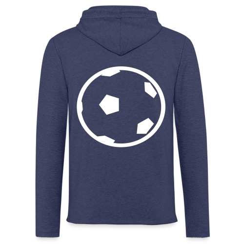 Unterwasser-Rugby Ball - Leichtes Kapuzensweatshirt Unisex