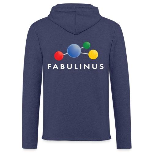 Fabulinus logo enkelzijdig - Lichte hoodie unisex