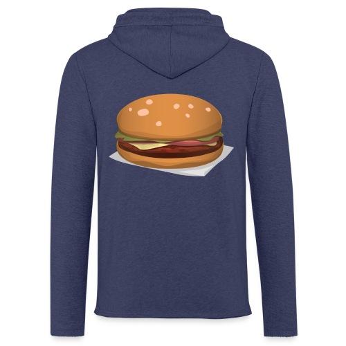 hamburger-576419 - Felpa con cappuccio leggera unisex