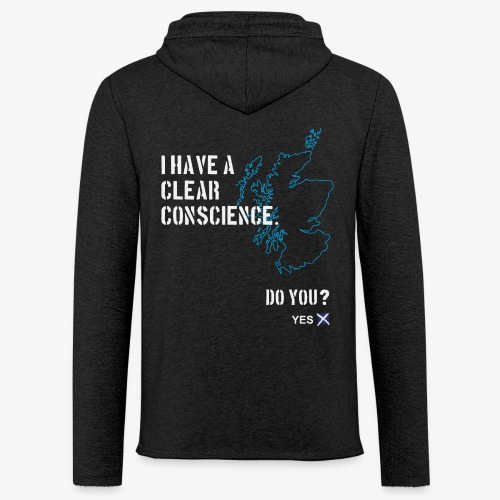 Clear Conscience - Light Unisex Sweatshirt Hoodie