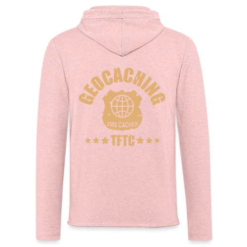 geocaching - 2500 caches - TFTC / 1 color - Leichtes Kapuzensweatshirt Unisex