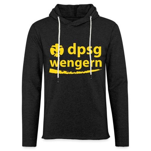 DPSG Wengern Front - Leichtes Kapuzensweatshirt Unisex