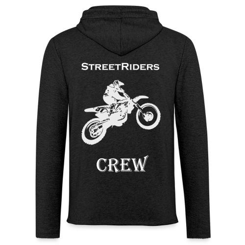 StreetRiders Hoodie - Felpa con cappuccio leggera unisex