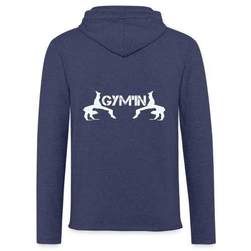 gym'n design - Sweat-shirt à capuche léger unisexe