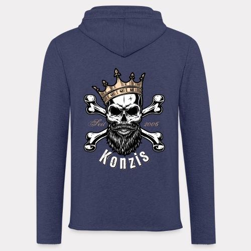 Skull Bones Logo - Leichtes Kapuzensweatshirt Unisex