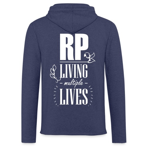 Role play - Living multiple lives - Let sweatshirt med hætte, unisex