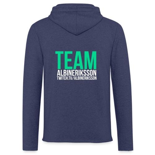Team albinerikss0n - Lätt luvtröja unisex