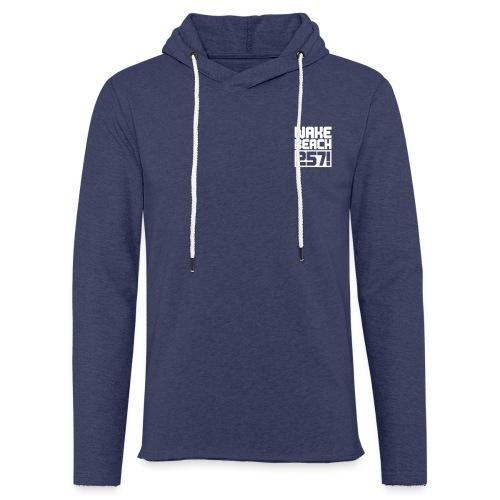 257-Logo-Free 1c - Leichtes Kapuzensweatshirt Unisex