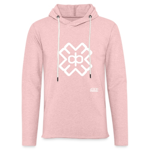 d3eplogowhite - Light Unisex Sweatshirt Hoodie