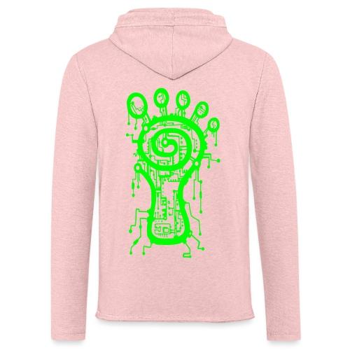 Parvati Records Matrix logo - Light Unisex Sweatshirt Hoodie