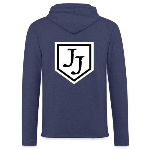 JJ logga - Lätt luvtröja unisex