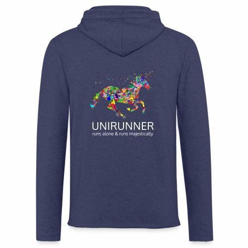 unirunner - alleen voor magische hardloopfans - Lichte hoodie unisex
