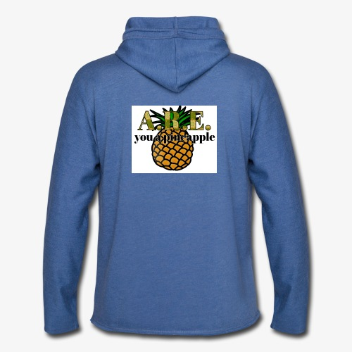 Are you a pineapple - Light Unisex Sweatshirt Hoodie
