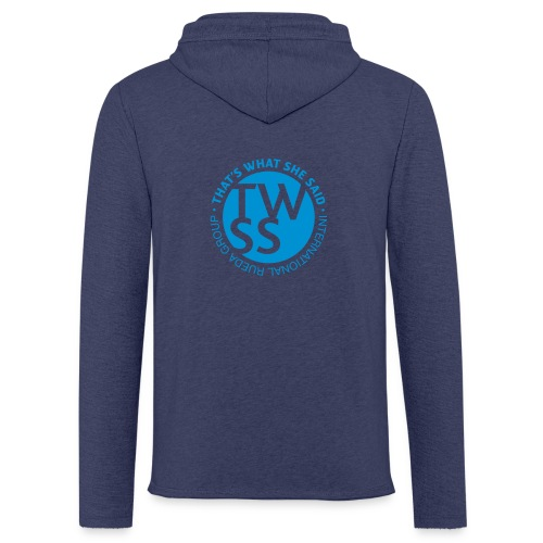 TWSS logo - That's What She Said - International - Leichtes Kapuzensweatshirt Unisex