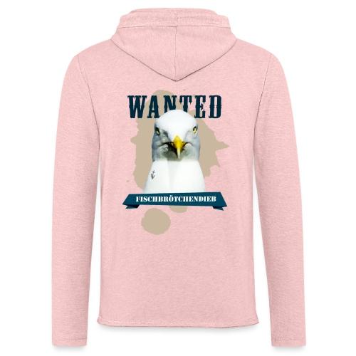 WANTED - Fischbrötchendieb - Leichtes Kapuzensweatshirt Unisex