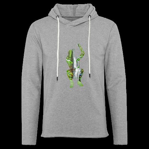 Jump into Adventure - Leichtes Kapuzensweatshirt Unisex