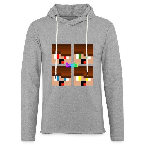 Colorful Merch - Leichtes Kapuzensweatshirt Unisex