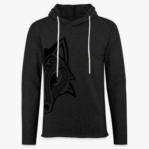 Celtic Wolf half - Light Unisex Sweatshirt Hoodie
